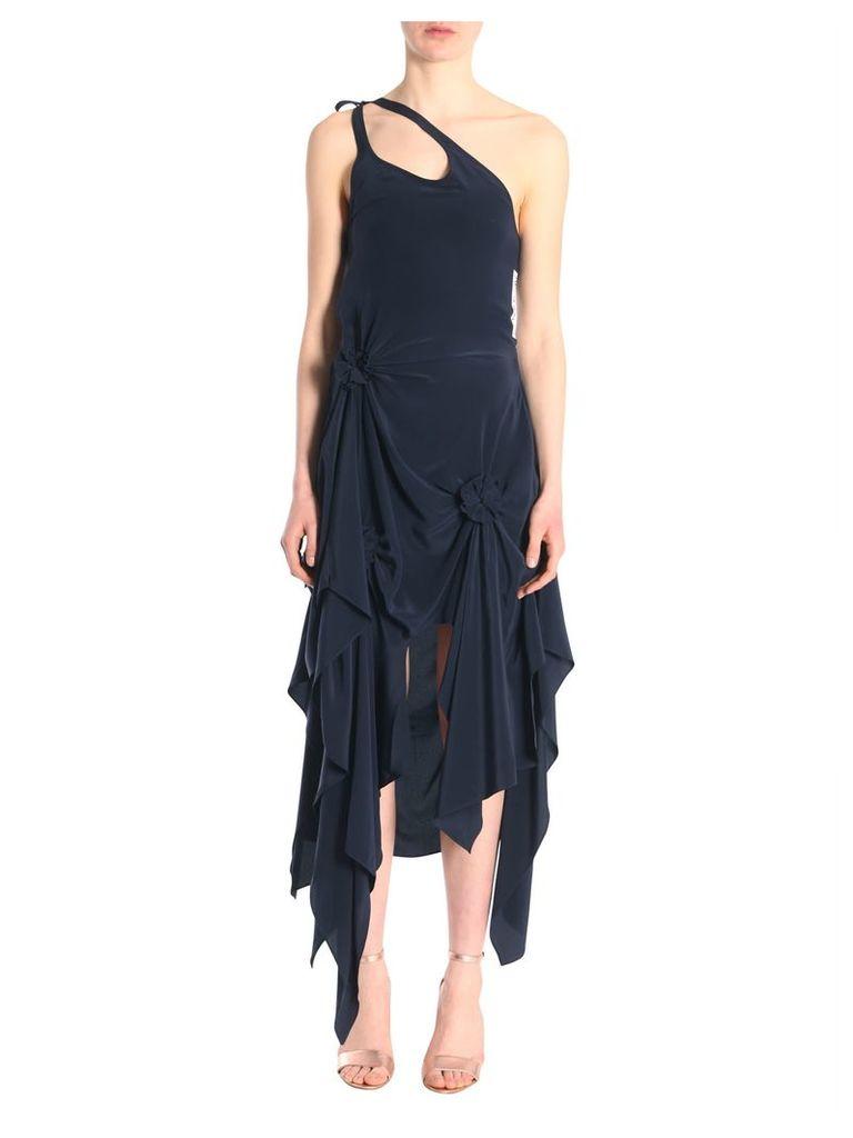 J.W. Anderson Asymmetric One Shoulder Dress