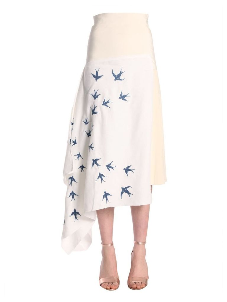 J.W. Anderson Patchwork Skirt