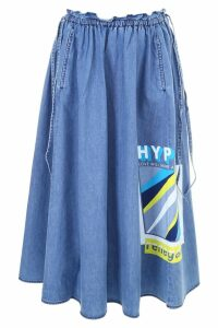 Kenzo Flared Denim Skirt