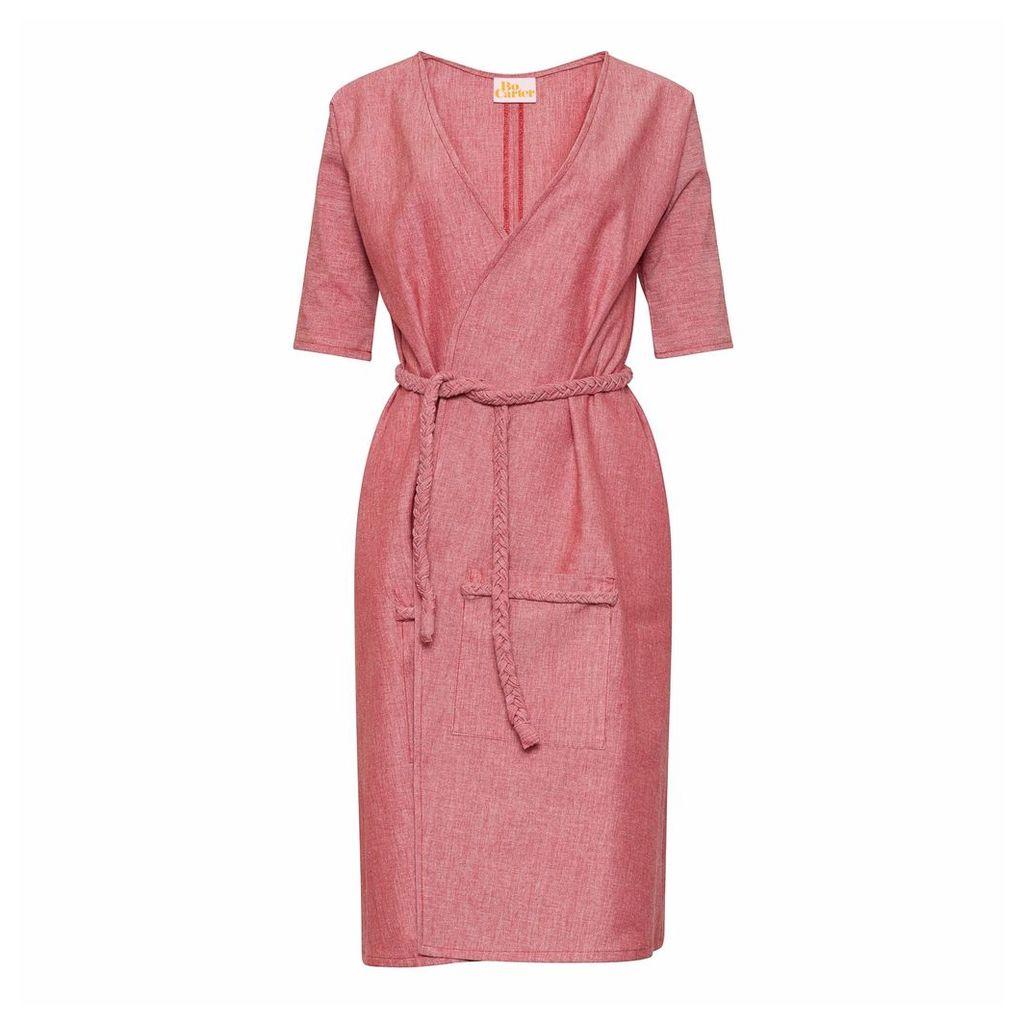Bo Carter - Antonia Wrap Dress Red