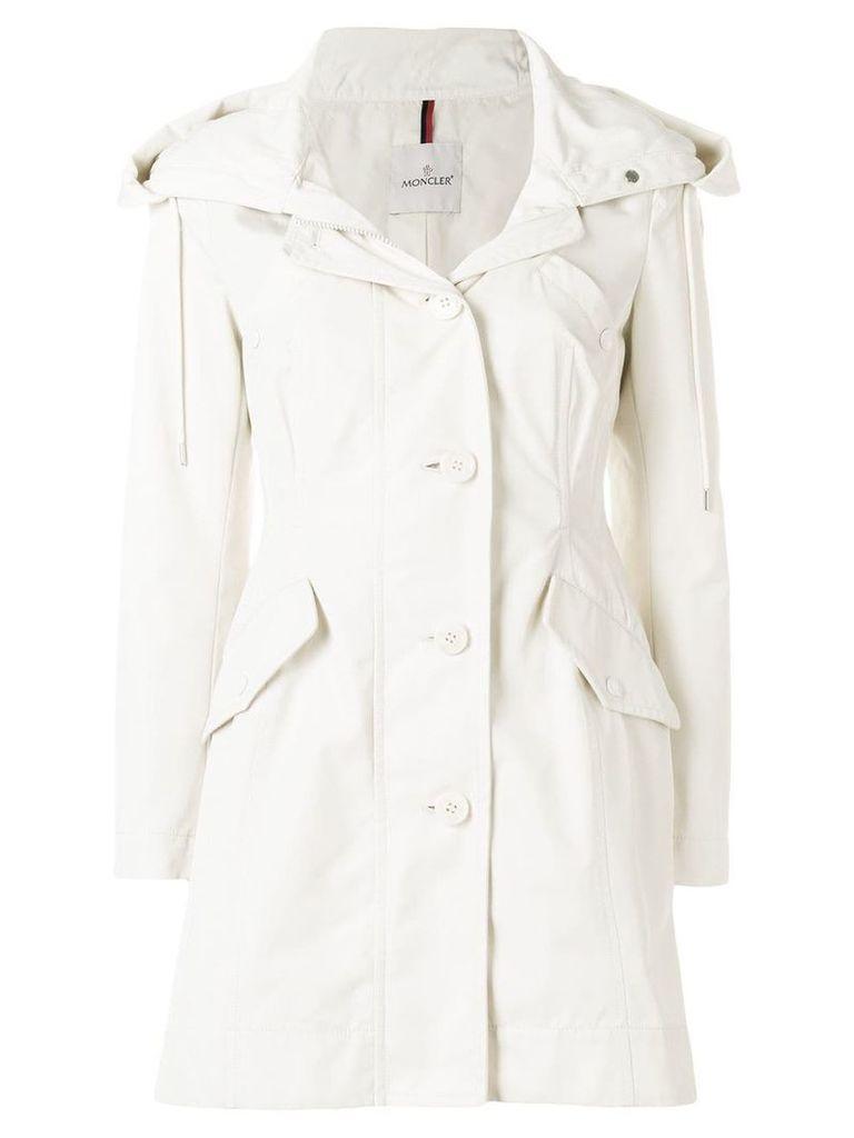Moncler fitted waist coat - Neutrals