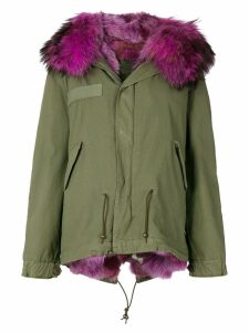 Mr & Mrs Italy fur lined short parka - Green