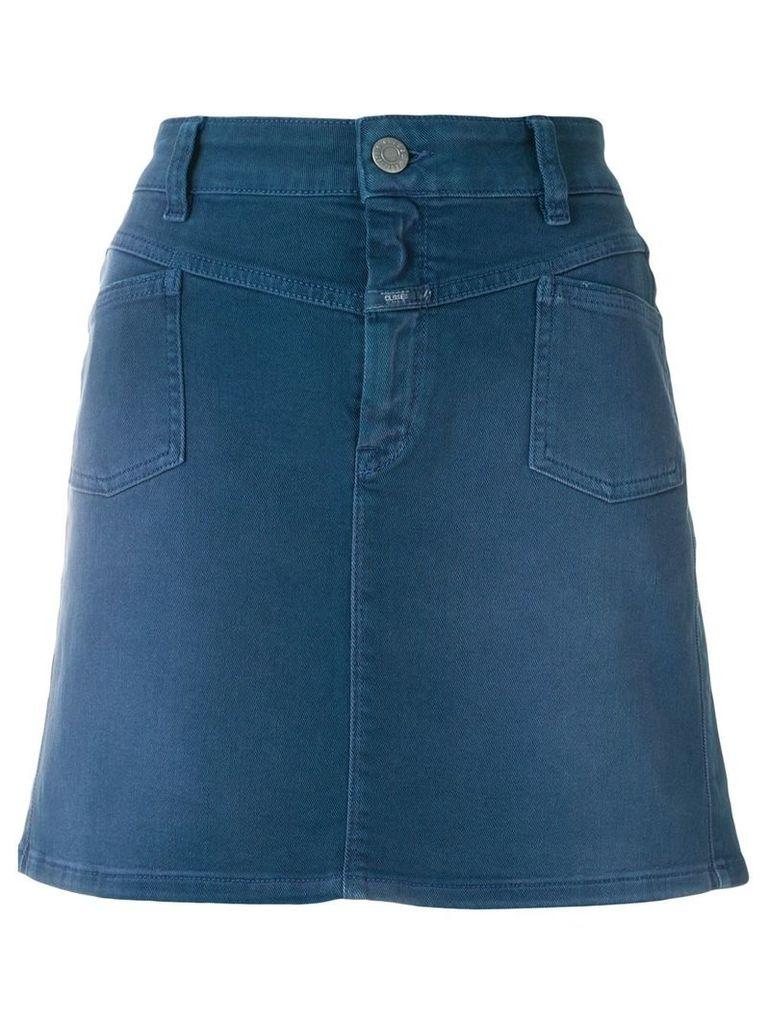 Closed ombré denim skirt - Blue