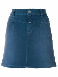 Closed ombré denim skirt - Blue