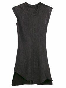 Olsthoorn Vanderwilt asymmetric fitted dress - Black