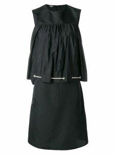 Calvin Klein 205W39nyc drawstring smock dress - Black