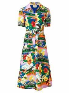 Gucci Hawaiian print dress - Multicolour