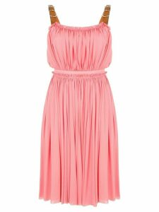 Alexander McQueen gathered short dress - Pink