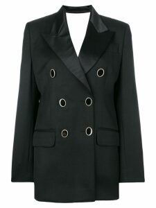 Seen Users classic double-breasted blazer - Black