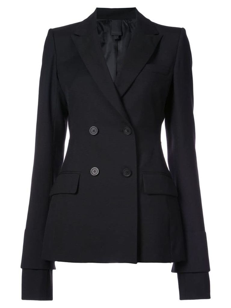 Vera Wang classic fitted blazer - Black