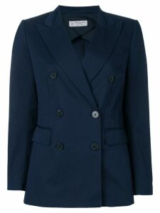 Alberto Biani double breasted blazer - Blue
