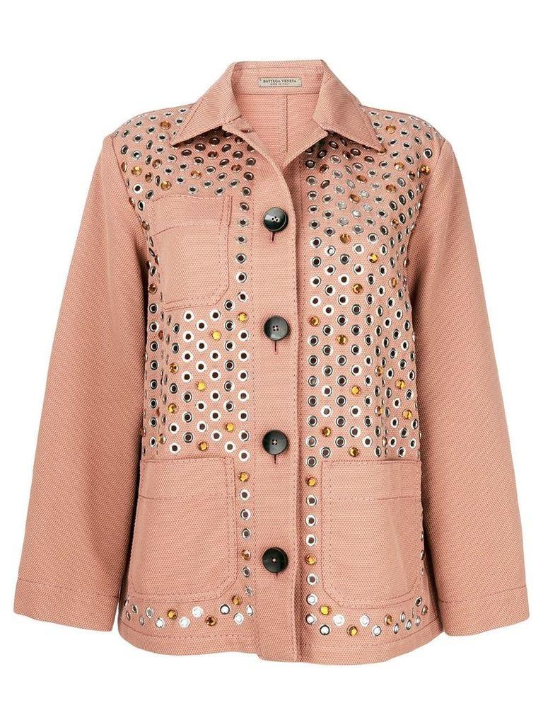 Bottega Veneta embellished jacket - Pink