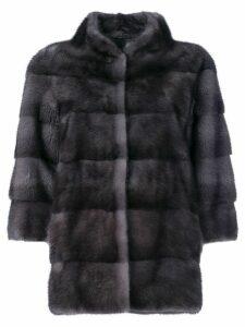 Liska padded fur jacket - Blue