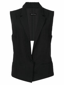 Andrea Ya'aqov sleeveless blazer - Black