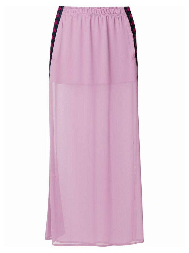 Faith Connexion X Kappa long skirt - Pink