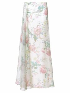 Ralph Lauren floral flared skirt - 001
