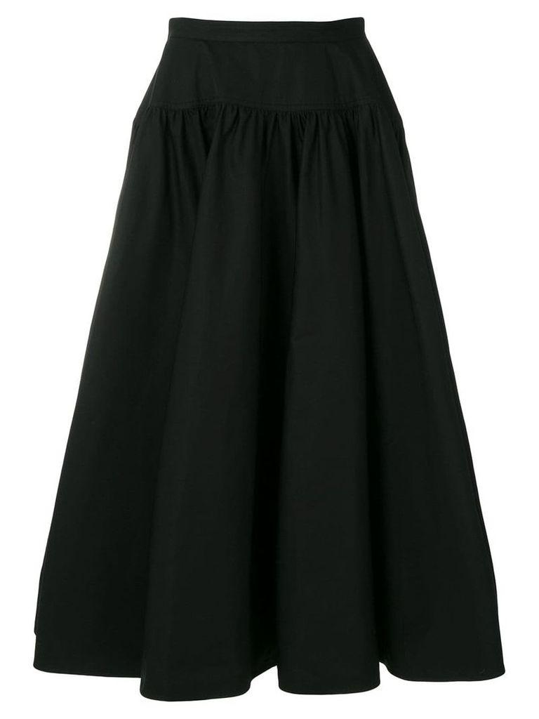 Calvin Klein 205W39nyc high waisted full skirt - Black