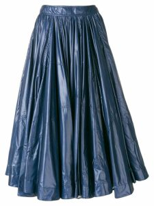 Calvin Klein 205W39nyc full gathered skirt - Blue