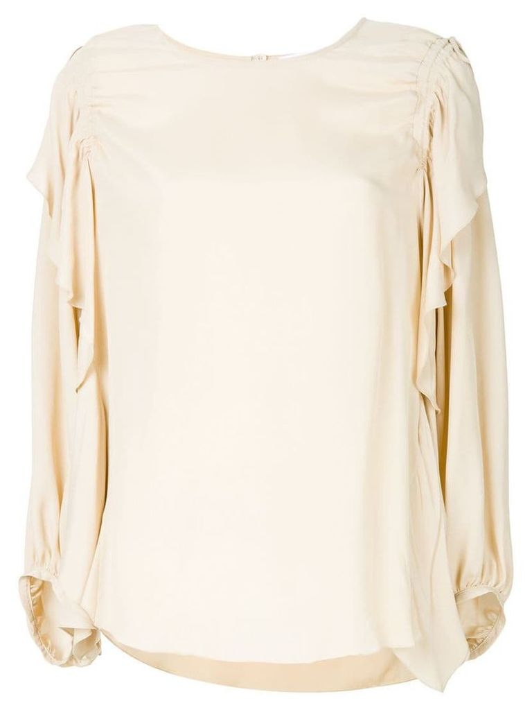 See By Chloé loose fit blouse - Neutrals