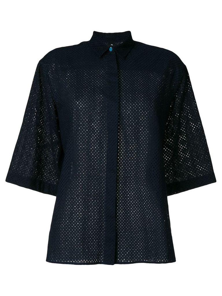 PS Paul Smith short sleeve shirt - Blue