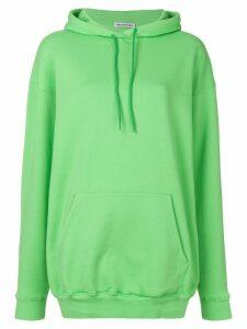 Balenciaga Logo Hoodie Sweater - Green