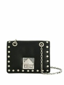 Sonia Rykiel studded mini flap bag - Black