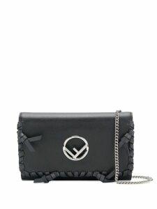 Fendi Kan I F shoulder bag - Black