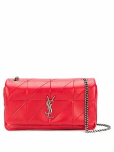 Saint Laurent medium patchwork Jamie bag - Red