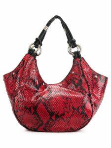 Giorgio Armani Pre-Owned textured tote bag & pouch