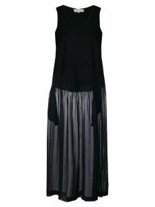 Comme Des Garçons Pre-Owned sheer maxi dress - Black