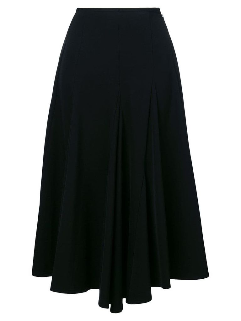 Yohji Yamamoto Vintage asymmetric midi skirt - Black