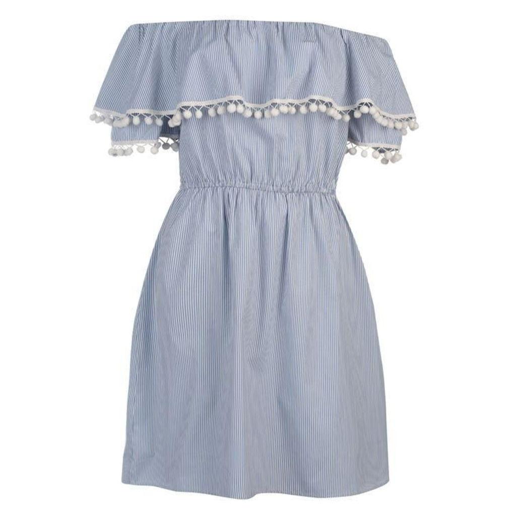 SoulCal Stripe Dress Ladies