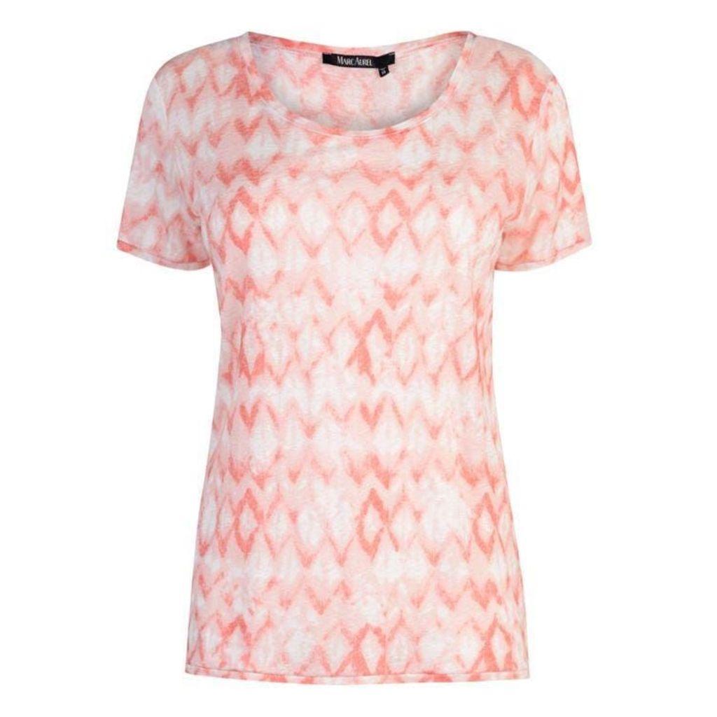 MARC AUREL Short Sleeve Printed T Shirt
