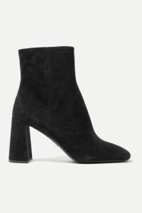 Balenciaga - Hourglass Prince Of Wales Checked Wool-blend Blazer - Gray