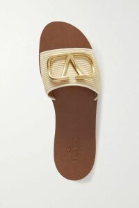 Dodo Bar Or - Tiered Floral-print Crepe Dress - White