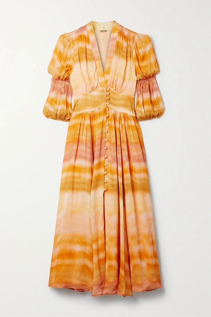 Burberry - The Kensington Long Cotton-gabardine Trench Coat - Midnight blue