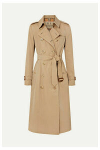 Burberry - The Chelsea Long Cotton-gabardine Trench Coat - Beige