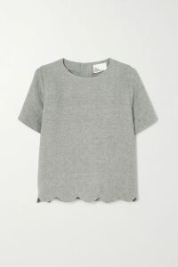 Burberry - The Kensington Cotton-gabardine Trench Coat - Gray