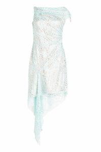 Peter Pilotto Lace Asymmetric Dress