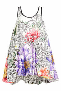 Mary Katrantzou STYLEBOP.com EXCLUSIVE Paint By Numbers Iris Dress