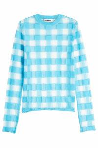 Jil Sander Semi-Sheer Cotton Pullover