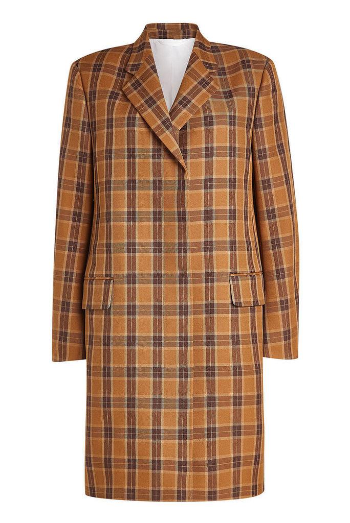 CALVIN KLEIN 205W39NYC Printed Coat