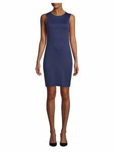 Liana Draped-Back Bodycon Dress