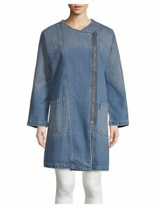 Davida Denim Trench Coat