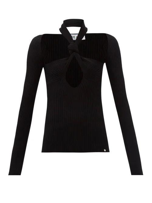 Kwaidan Editions - Ruscha Floral Print Single Breasted Jacket - Womens - Navy Print
