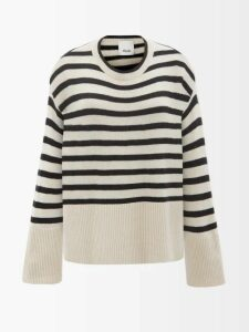 Peter Pilotto - Leaf Print Tie Front Crepe Dress - Womens - Green Multi