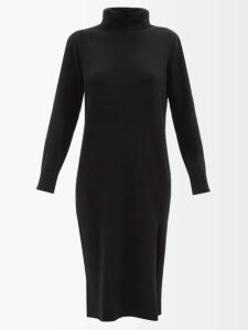 Maison Rabih Kayrouz - Gathered Panel Charmeuse Dress - Womens - Blue