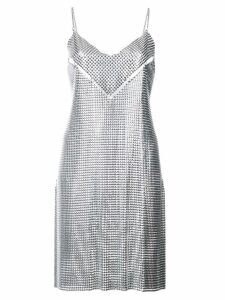 Paco Rabanne chain metal dress - Metallic
