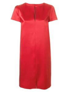 Gianluca Capannolo v-neck dress - Red