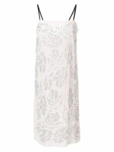 Nº21 embellished cami dress - Pink